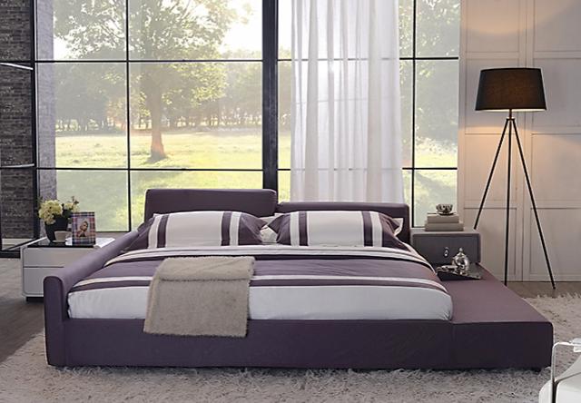 尚驰 1.8米床 可拆洗布艺床 双人床
