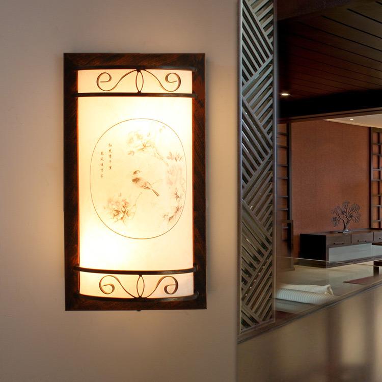 c久特中式古典复古壁灯 玄关过道门厅墙灯 楼梯灯 阳台灯饰灯具