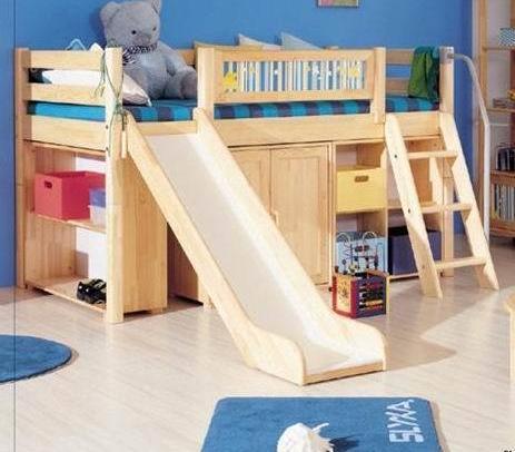 实木床/双层床//单人床/儿童床/子母床/上下铺/儿童实木床/滑梯床