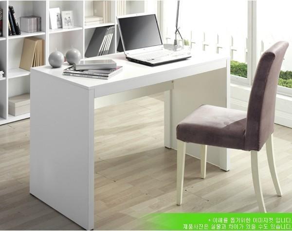 定制 黑 白色简易学习电脑桌子床边写字台 简约宜家用办公现代时尚定制