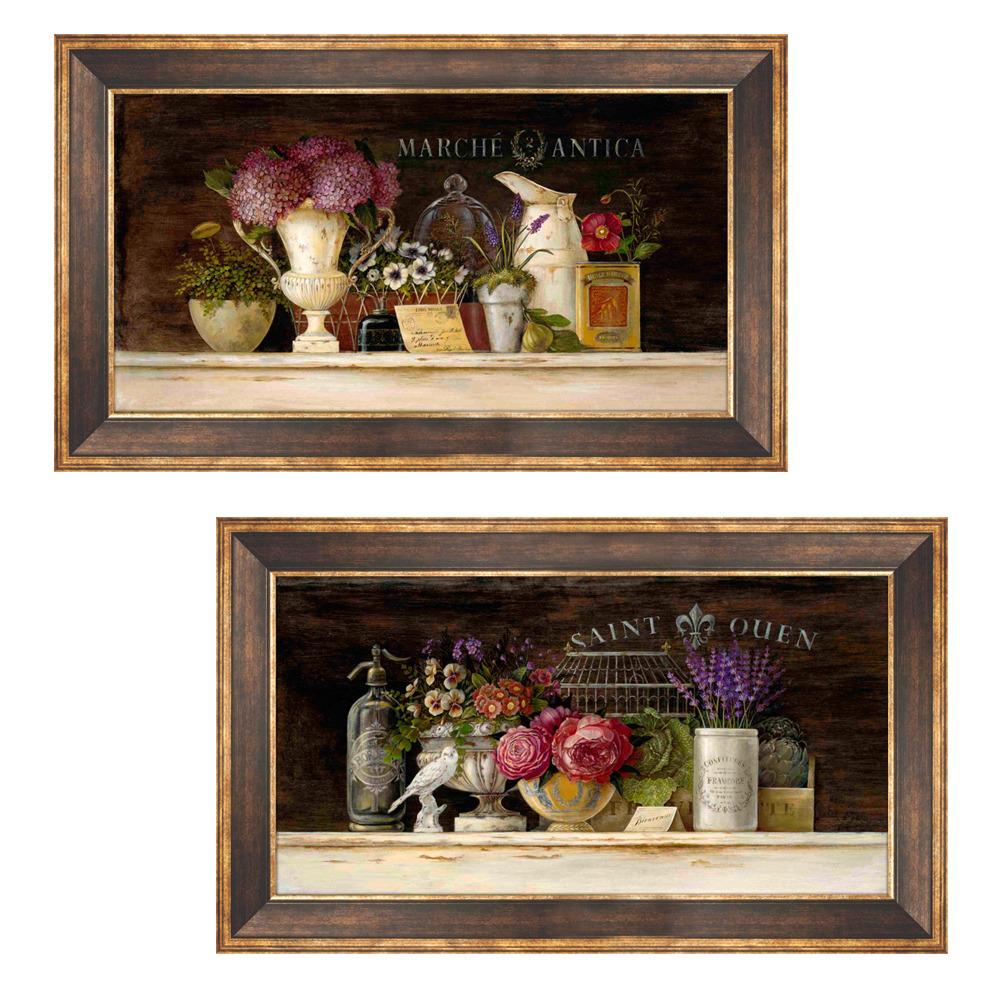 乡村花卉 装饰画 浪漫 法式 欧式有框画现代简约壁画图片