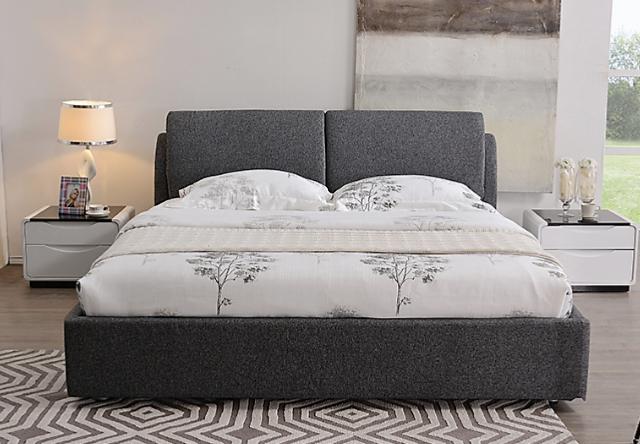 尚驰 高档可拆洗 布床双人小户型 1.5 米