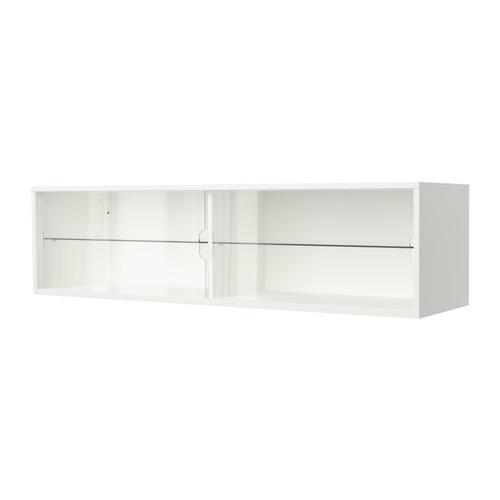 宜家代购 佳兰特 壁柜带推拉门, 白色 160x40 cm