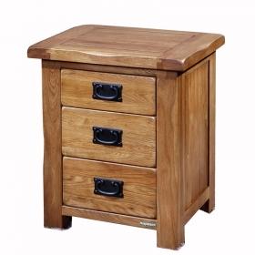 简约田园纯实木床头柜 橡木床头柜