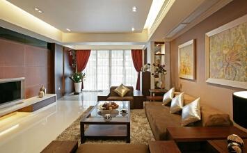 120平中式风格家装