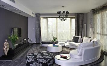 别致客厅沙发装 清新...