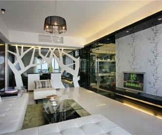 1室2厅65平米现代风格