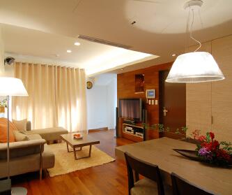 139平现代简约三居室