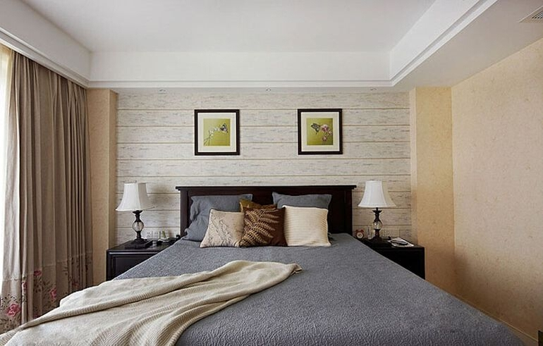 美式田园卧室风格,打造最温馨卧室