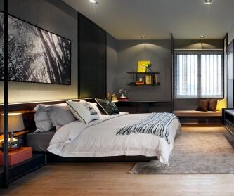 180平米四居室装修设计