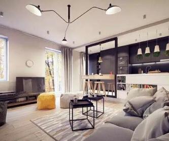 开放式的公寓