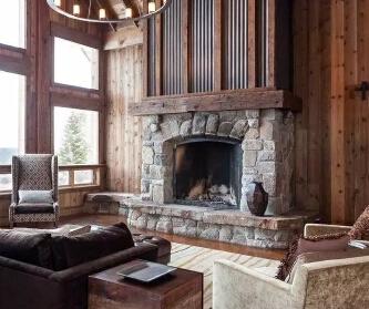 全木质打造的别墅