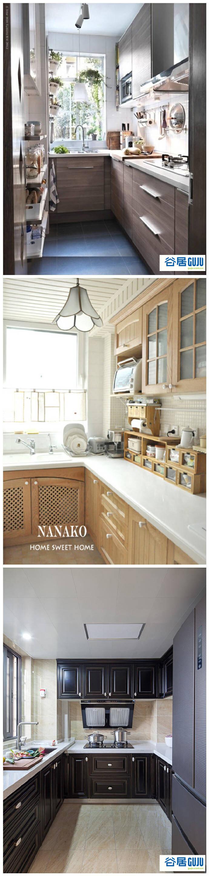 看完这24款厨柜,你的厨房不在脏乱差!
