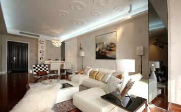 基正盛世新天两厅室装...