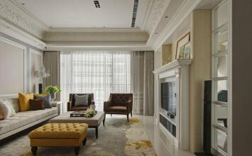 春江家园三室两厅设计...