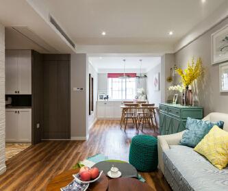 95平米现代简约三室两厅