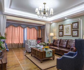 170平美式四居室,品味...