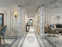 普罗旺世320平四室两厅混搭风格装修