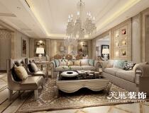 时尚奢华,160平大三居充满艺术气息郑州