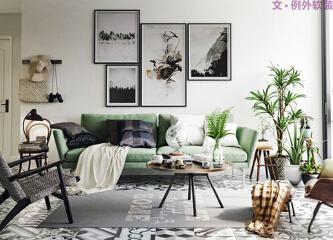 植物,让人与自然的和谐在室内设计中成为可能!