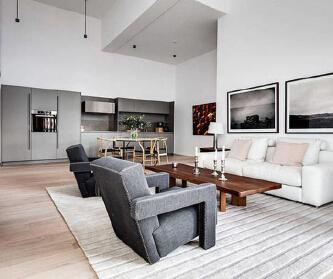 82m²瑞典现代公寓,温...