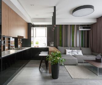 轻奢现代住宅设计案例