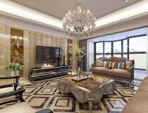 城市人家装饰【银和怡海山庄】简欧风格193平米,设计师李俊杰