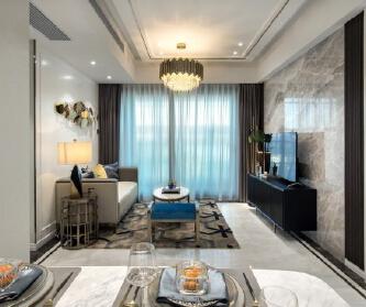 现代风格婚房设计,甜蜜...