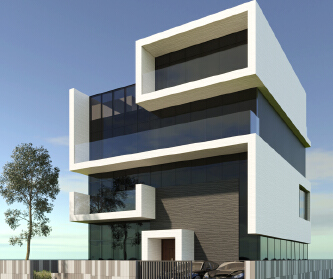 住宅设计-黄红淼