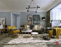 翡翠大观90平北欧风格装修设计,这个家让你幸福感爆棚