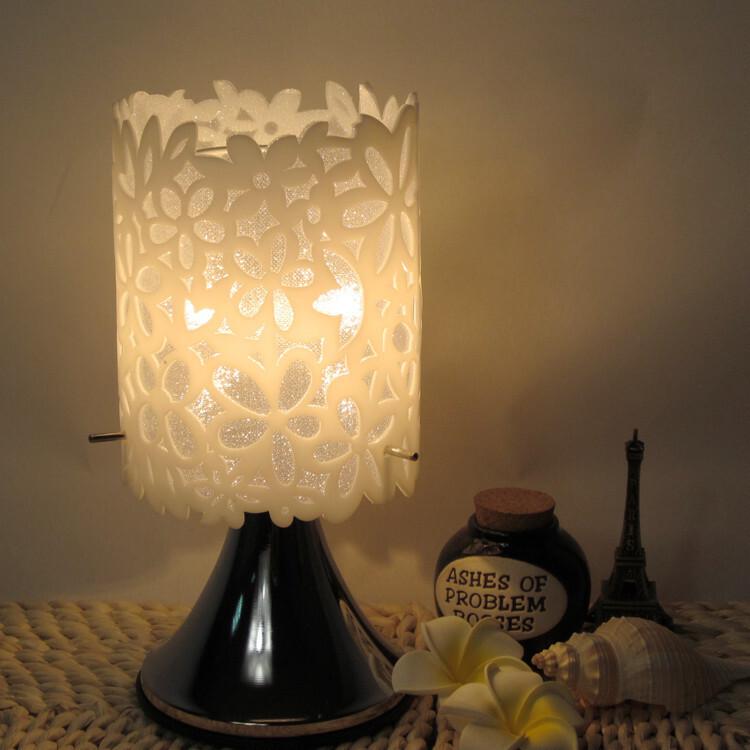 植语堂,插电香薰灯/精油香熏灯送精油灯泡,宜家风小台灯,花之语,