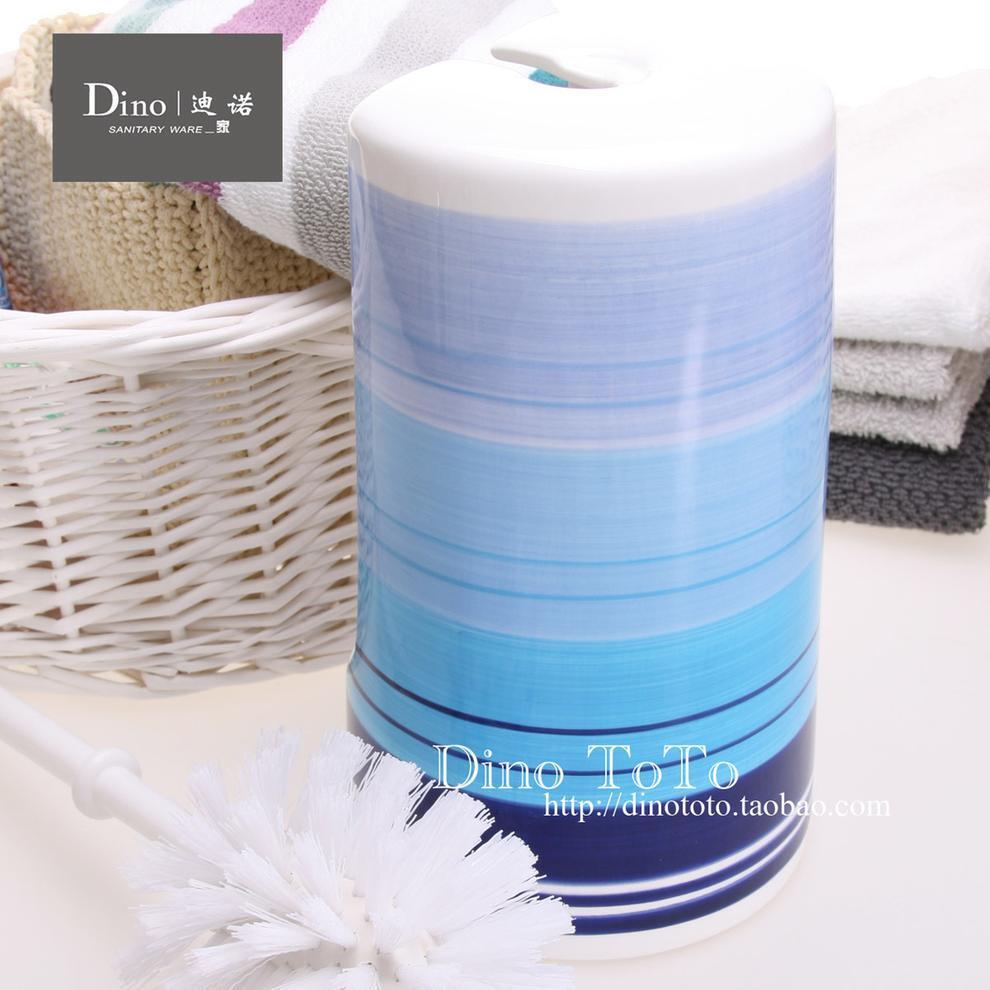 蓝调陶瓷浴室卫浴用品马桶刷架套装洁厕刷厕所刷马桶杯 厂家实拍,马桶配饰,