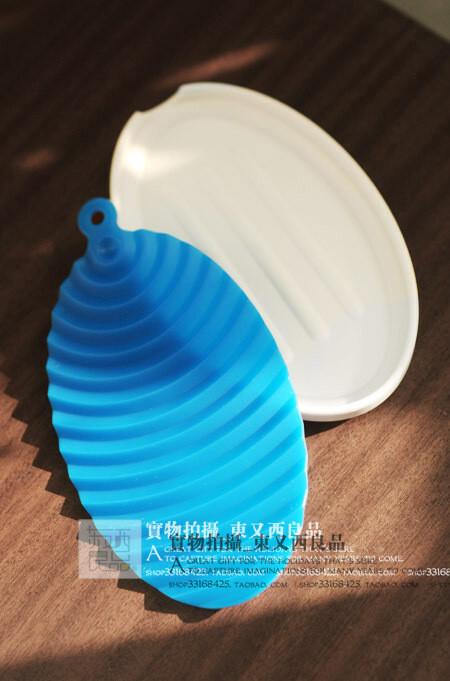 日本实用杂货 浴室 厨房 波浪纹 香皂盒 皂碟 迷你搓板 保持干燥,