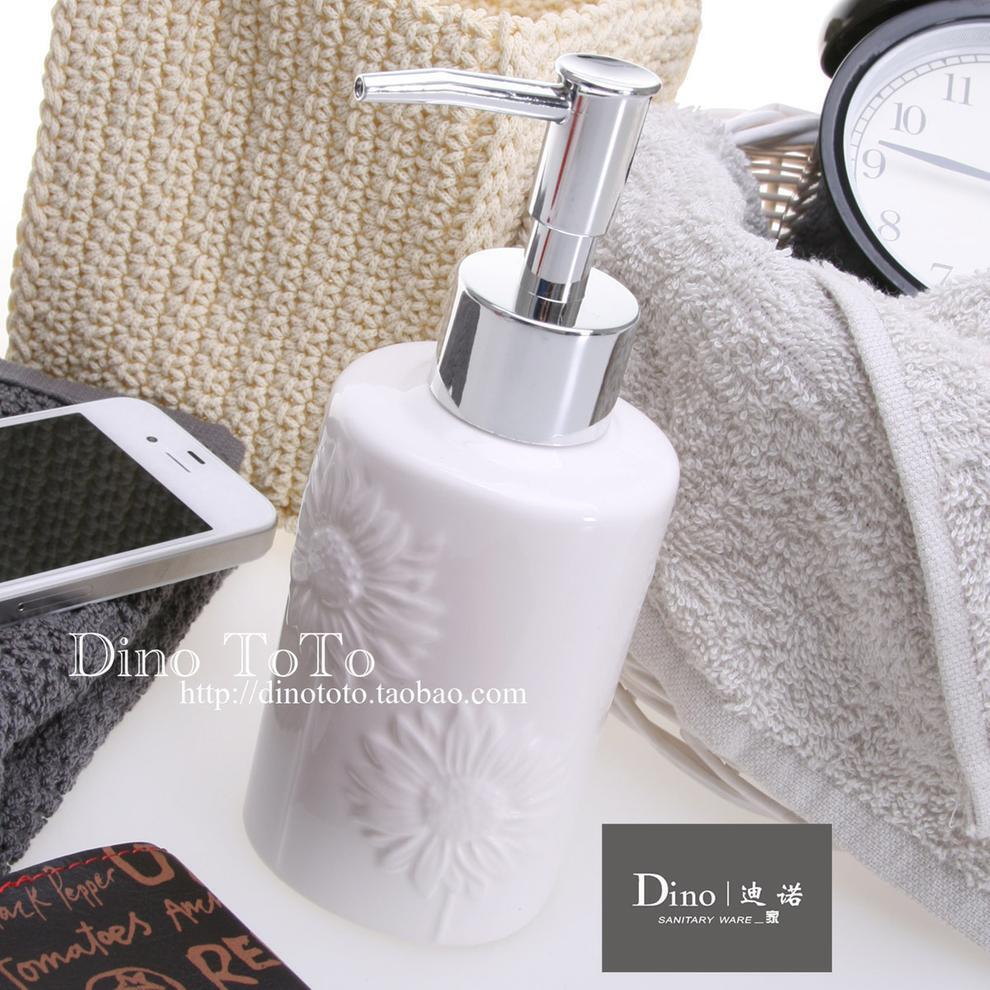 小号 特价批发 外单陶瓷厨房清洁卫浴用品具配件洗洁乳涤手液瓶器,