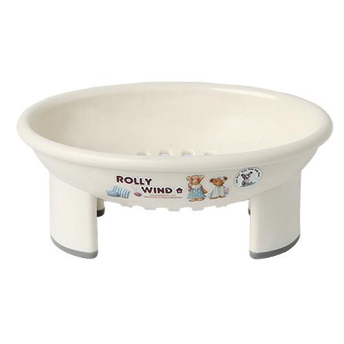 韩国泰迪熊高脚皂盒 韩国ROLLYWIND 韩国卫浴用品 韩国日用品,
