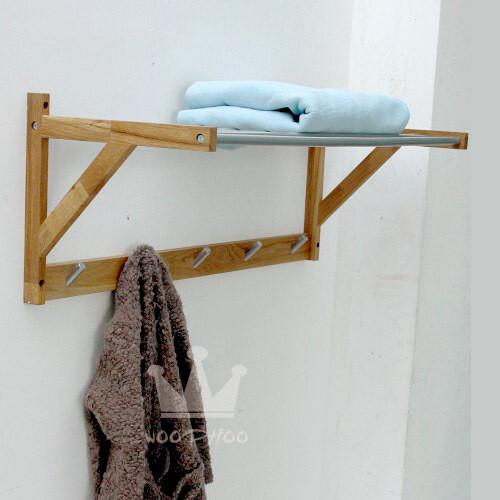 包邮特价出口外贸原单WOODHOO 纯实木毛巾架 毛巾挂 挂衣架,毛巾架,