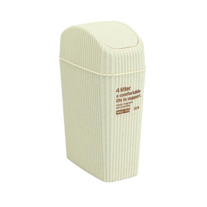 浪漫の樱花 日本进口塑料车载垃圾桶/小垃圾桶4L  14486,
