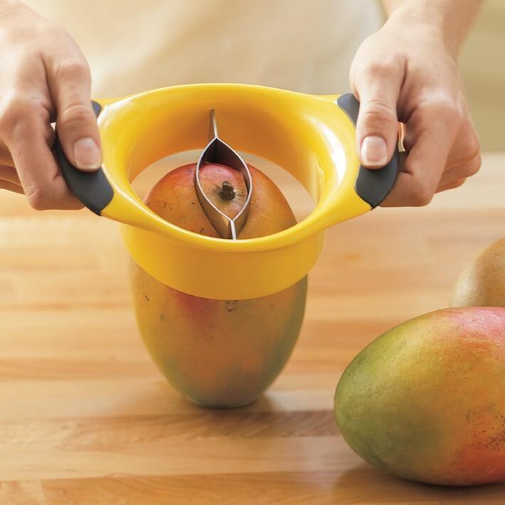 美国直邮 不锈钢芒果去核器,厨房工具,