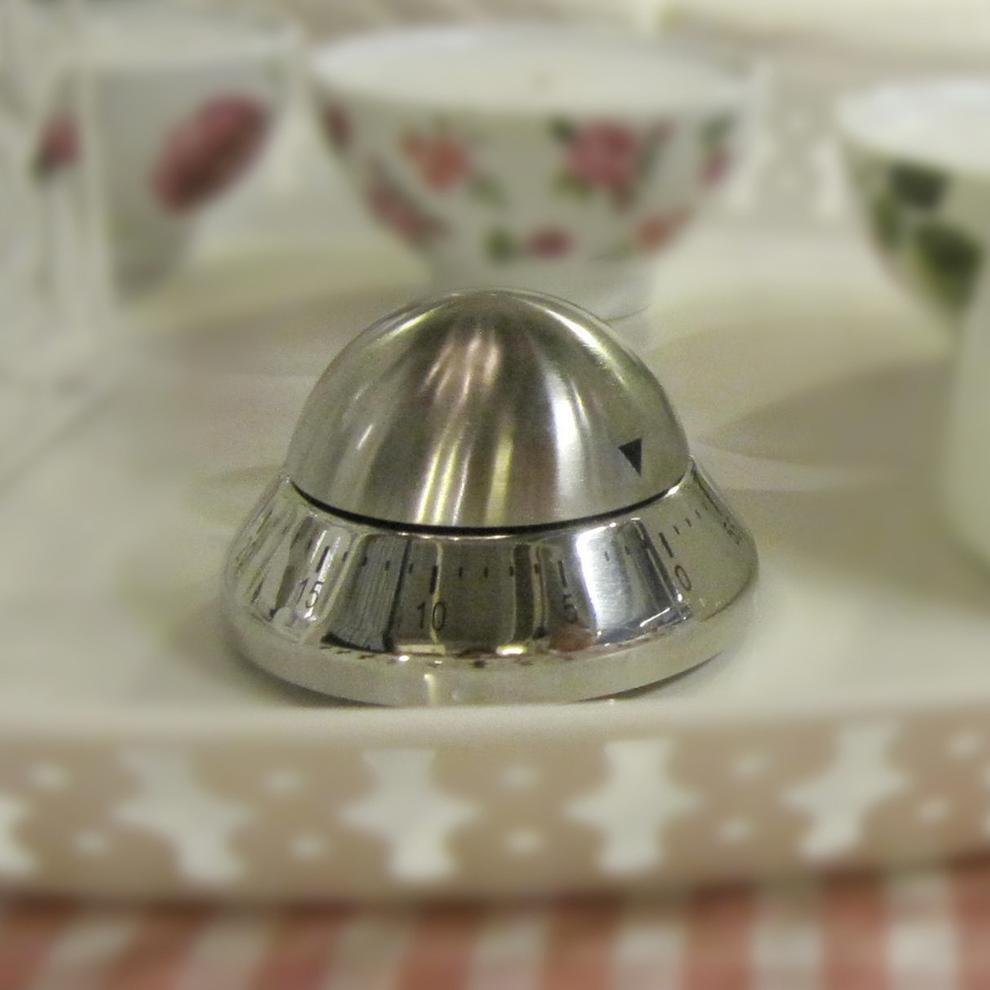 创意飞碟不锈钢计时器 厨房定时器 提醒器 厨房小工具 餐饮用具品,厨房工具,