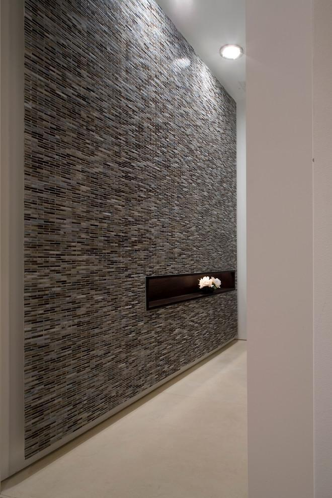 ,现代主义,走廊,