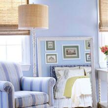 淡蓝色墙面装饰设计