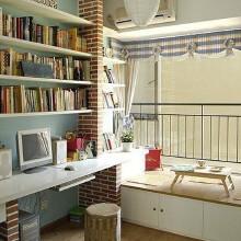 现代日式风书房