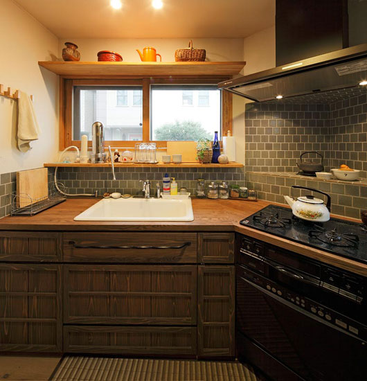 成都别墅装修_20.0平米小户型日式风格-谷居家居装修设计效果图