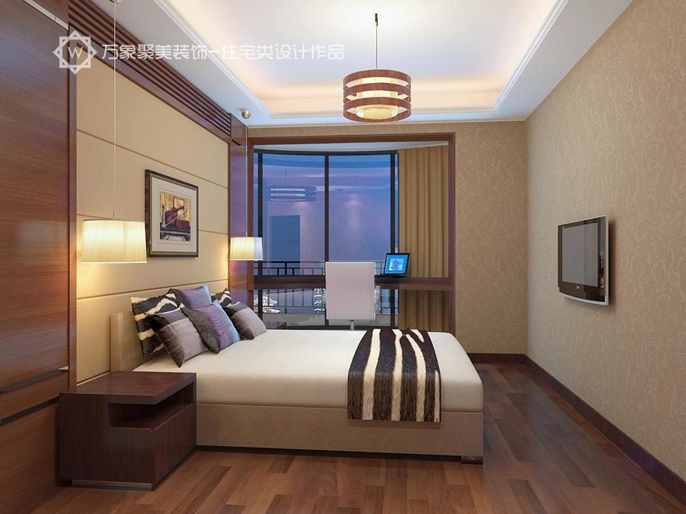 ,卧室,木黄色,灯具,现代,简约,