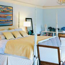 地中海风格卧室 尽显自然魅力