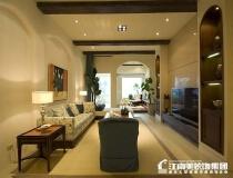 10万打造123平现代三居室