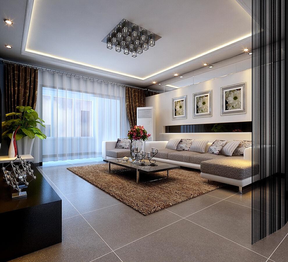 6万打造80平现代两居室