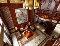 40万打造400平中式风格别墅
