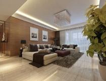 10万打造134平现代风格三居室