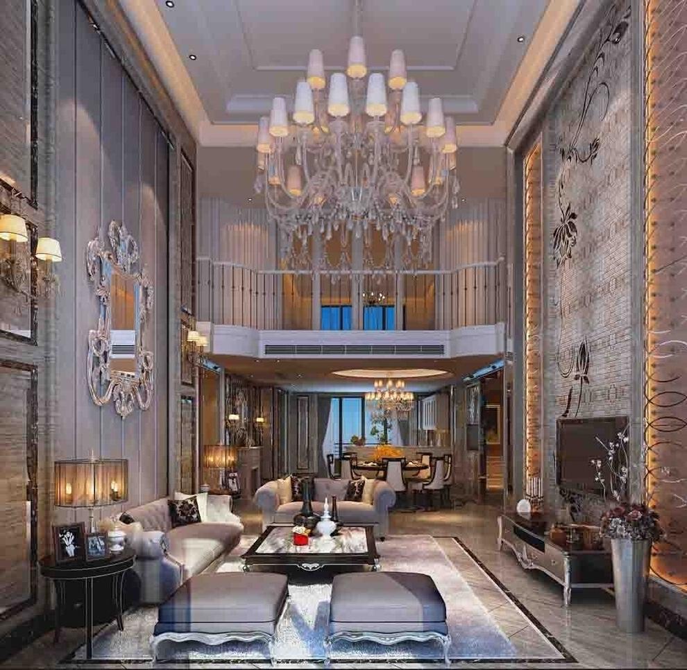 40万打造398平欧式风格别墅